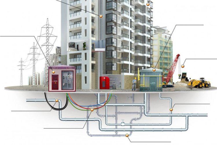 Демонтаж городских сетей и коммуникация